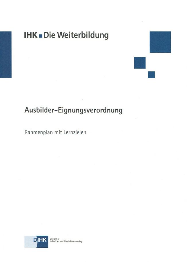 Rahmenplan AEVO
